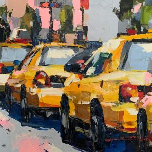 Peinture à l'huile sur toile –75 x 100cm – Cai
