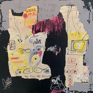 Peinture acrylique sur toile – 50×50cm – Guillaume Donsante