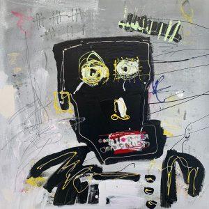 Peinture acrylique sur toile – 60×60cm – Guillaume Donsante